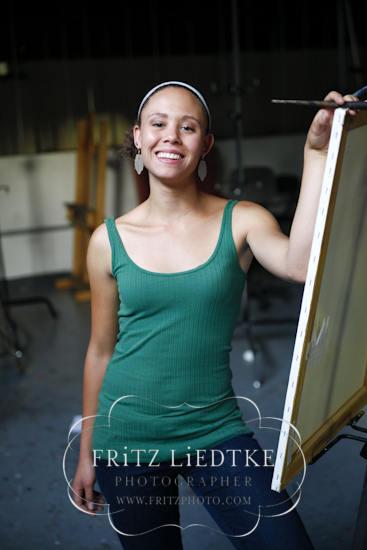 Young Painter Portrait