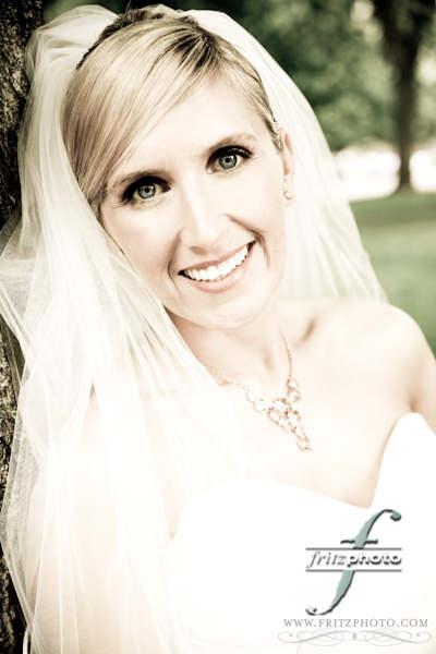 FritzPhoto Beautiful Bride Portrait Portland