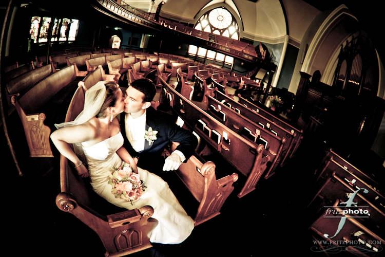 FritzPhoto-Carey-First Congregational Church Wedding Photo