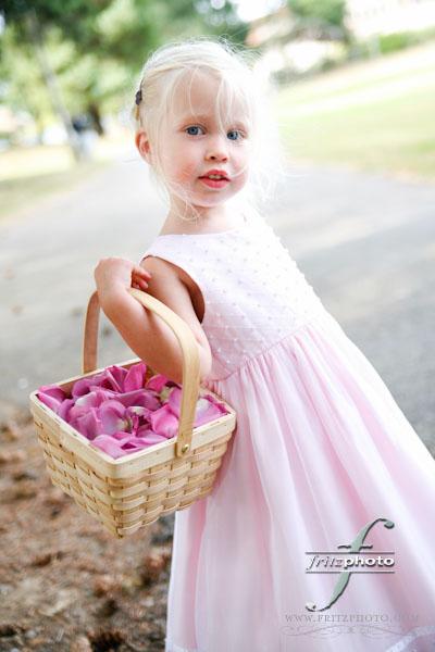 Wedding Flower Girl Portland Photography