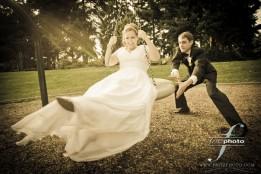 Portland Bride and Groom Portrait