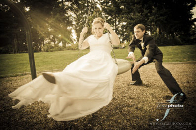 Portland Bride and Groom Portrait