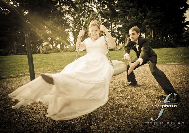 Unique Wedding Photograph Portland