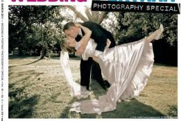 FritzPhoto's Wedding Portrait on the Cover of Shutterbug Magazine