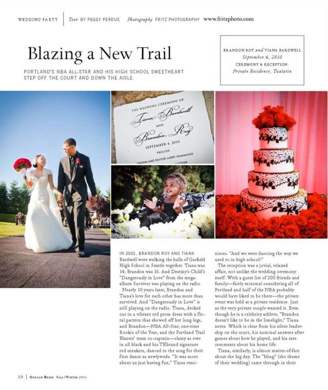 Portland Celebrity Wedding Photography