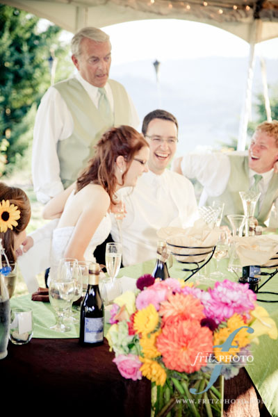 Wedding Locations Oregon on Mandy And Sean   S Wedding At Youngberg Hill Vineyard    Fritz