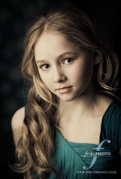Child model portfolio photography introducing ellie mcclaskey