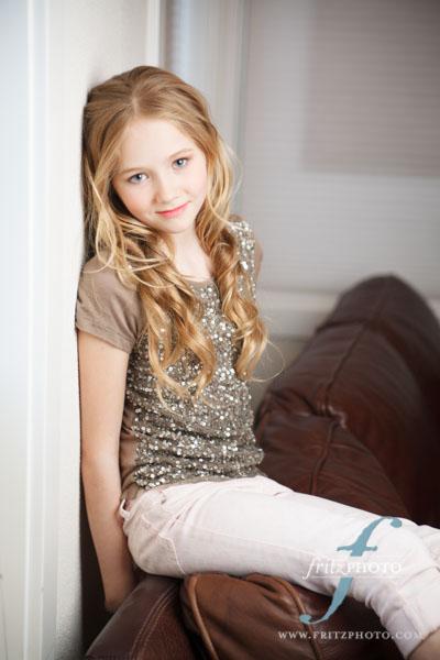 Child Model Portfolio Photography Introducing Ellie