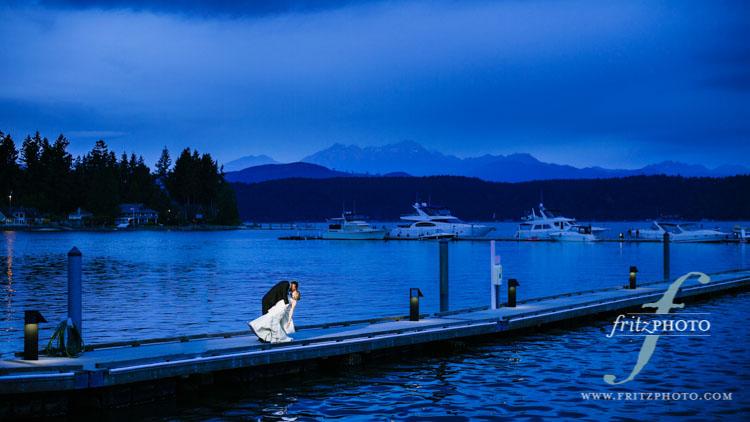 Alderbrook Resort Wedding Photography