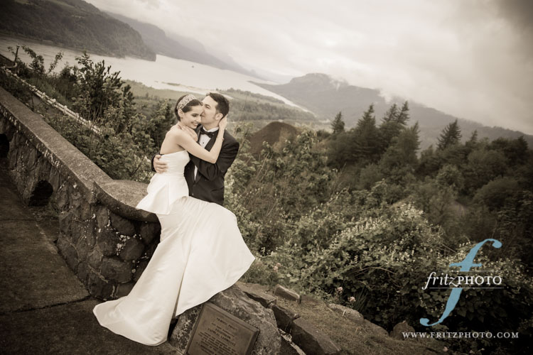 Columbia River Gorge Wedding Photos