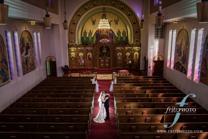 Portland Holy Trinity Greek Orthodox Cathedral Wedding Photo
