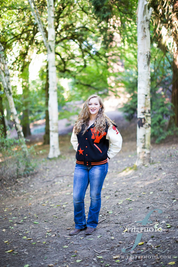 Portland Senior Portraits Photographer Laurelhurst Park