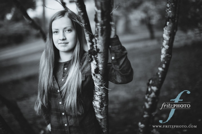 Beaverton senior portrait photographer