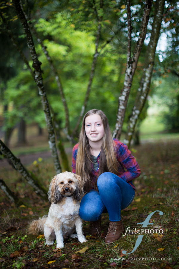 Beaverton high school senior portrait photographer