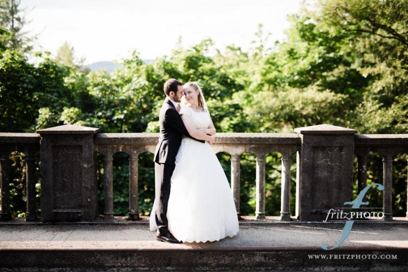 LaTourell Falls wedding photos
