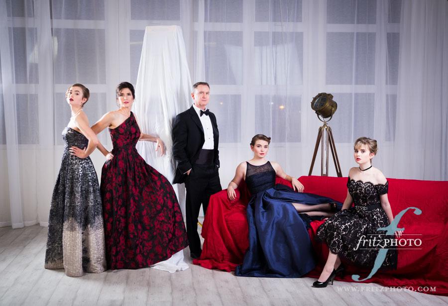 elegant Family portrait photographer Portland