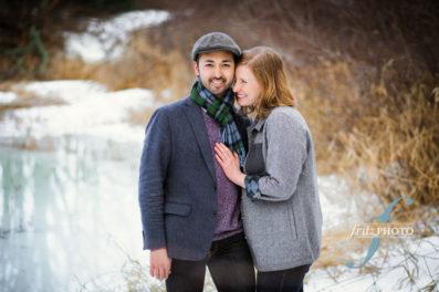 outdoor engagement portraits portland