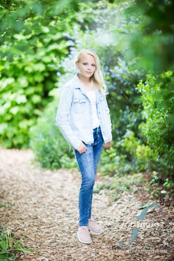 Young girl model test shoot photographer Portland