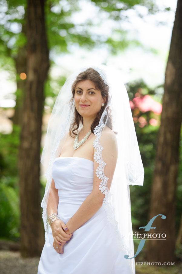 Ainsworth House Wedding Bride