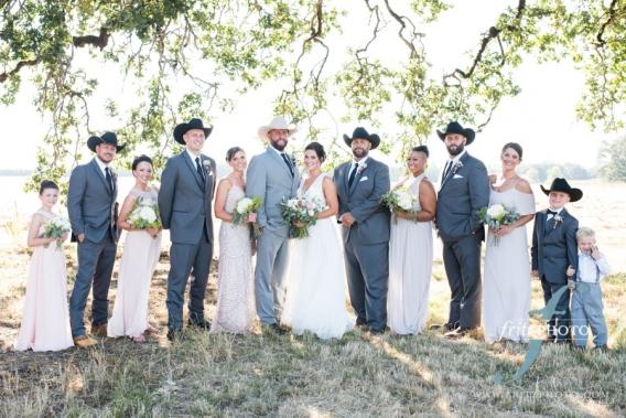 wedding party photo willamette valley oregon