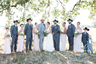 wedding party photo willamette valley oregon