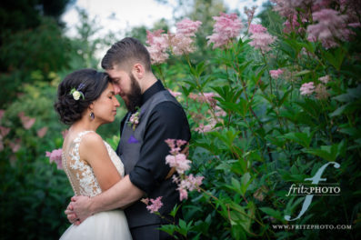 Edgefield bride and groom portrait photograph