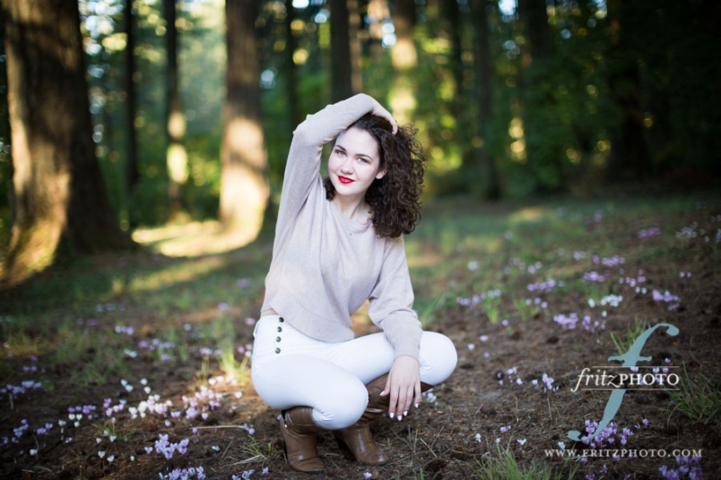 Beautiful senior photos in Beaverton, Oregon