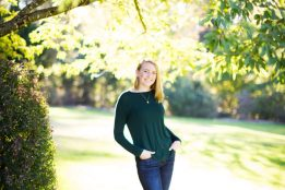 Senior photos shot in Beaverton, Oregon