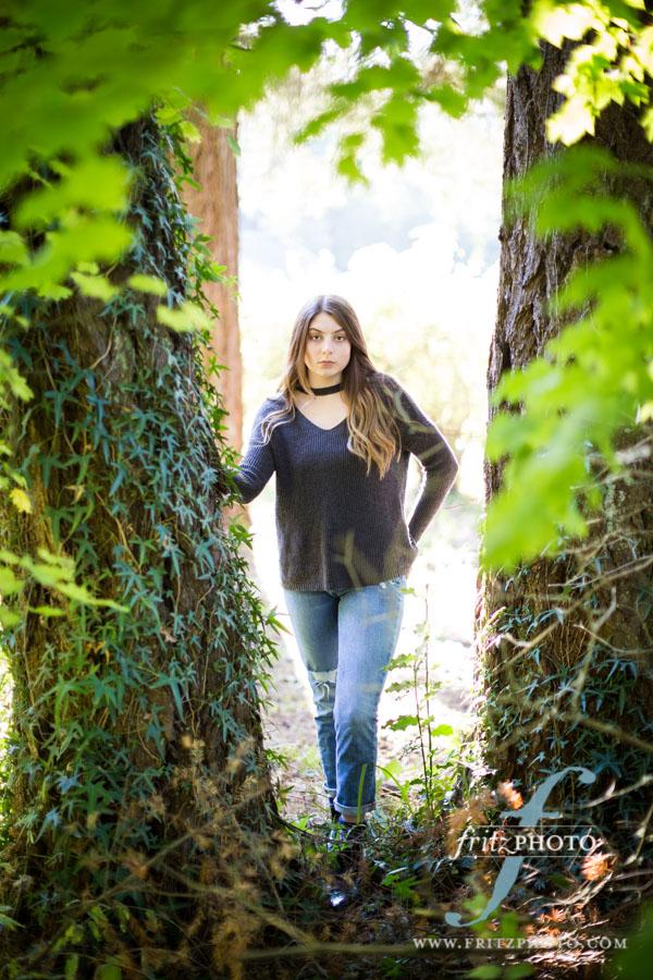 Senior yearbook photos in Beaverton