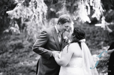 portland wedding photography at abernethy center
