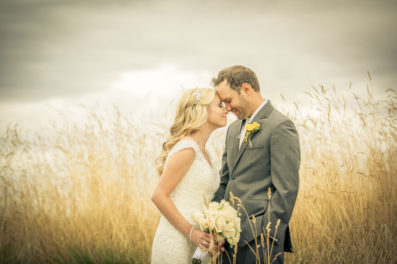Wedding portrait at pumpkin ridge golf club