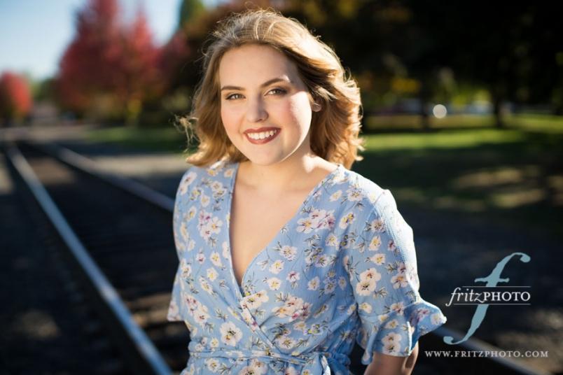 Senior photos at Cathedral Park