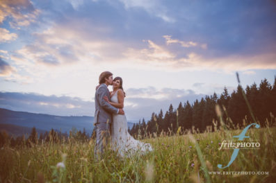 Mt View orchards wedding photos