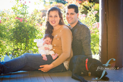 the whole family at jenkins estate for their family portraits