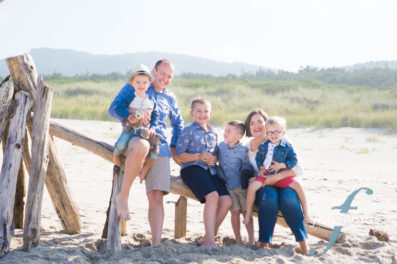 family portraits on the oregon coast