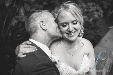 bride and groom at their wedding at abernethy had everything they wanted