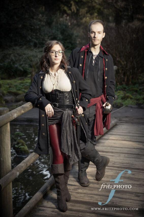 Pirate engagement photos