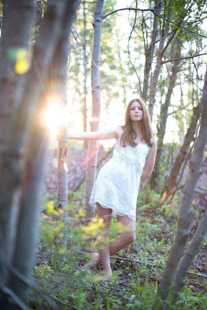 Modeling portfolio test shoot Portland