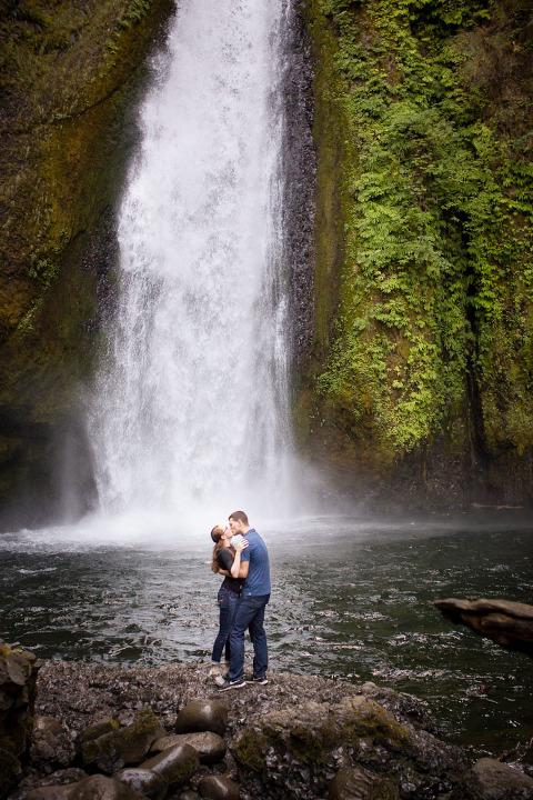 Proposal and engagement portrait photography Portland